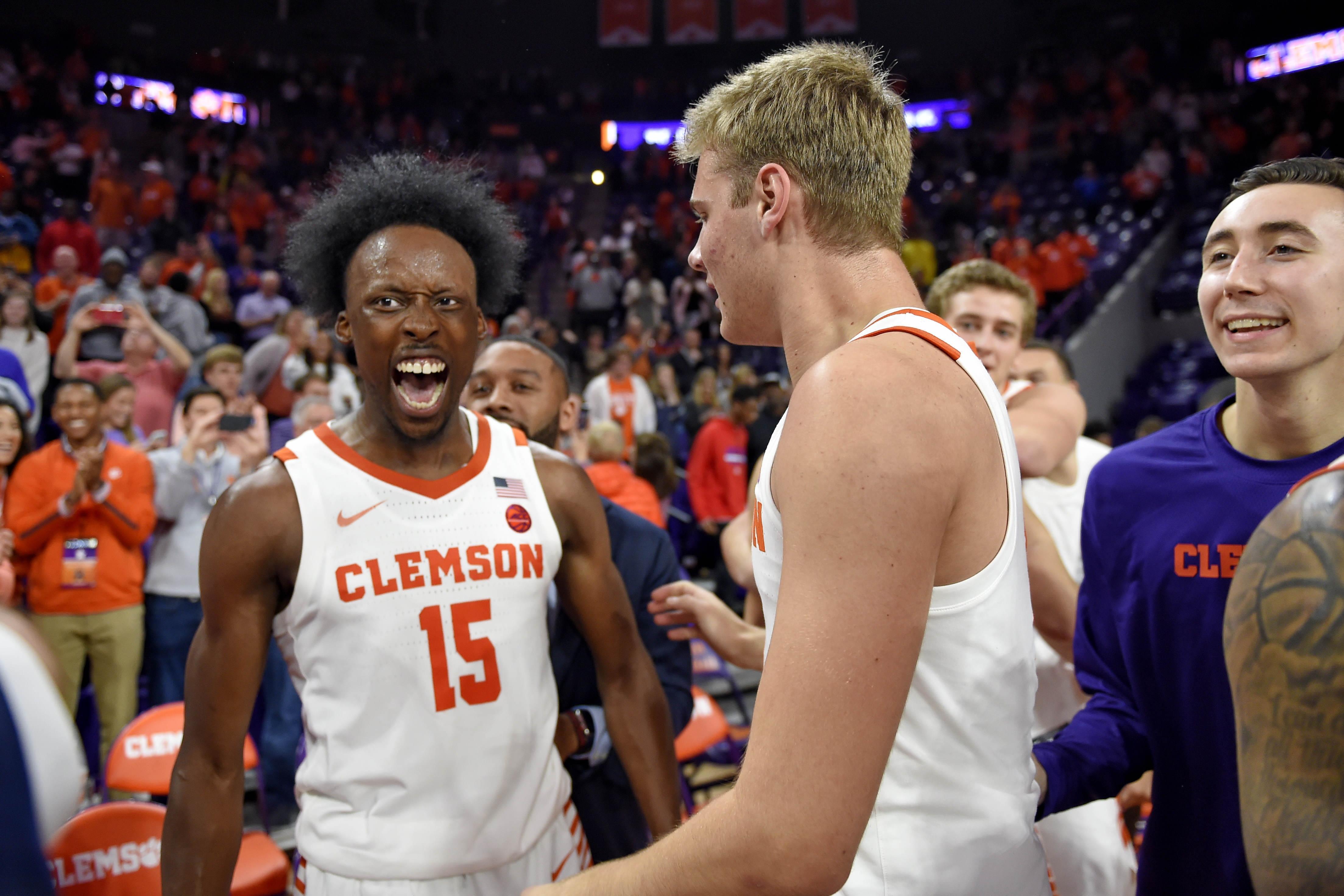 Duke Clemson Basketball